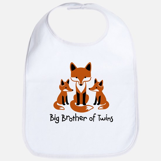Big Brother of Twins - Mod Fox Bib