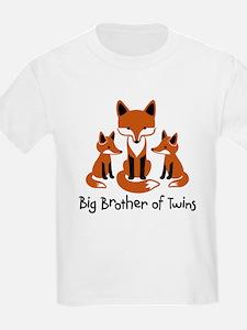 Big Brother of Twins - Mod Fox T-Shirt