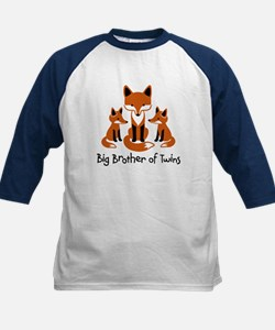 Big Brother of Twins - Mod Fox Kids Baseball Jerse