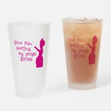 My Poops Drinking Glass