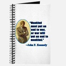 JFK Anti War Quotation Journal