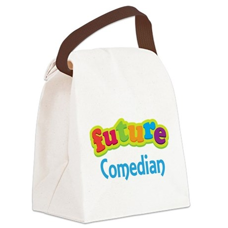 Future Comedian Canvas Lunch Bag