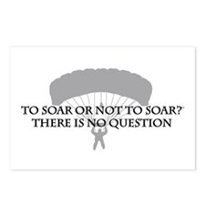 To Soar or Not To Soar (skydiving) Postcards (Pack