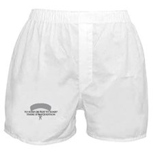 To Soar or Not To Soar (skydiving) Boxer Shorts