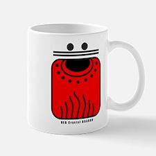 RED Crystal DRAGON Mug