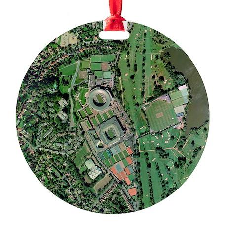 ex, UK - Round Ornament (Aluminum)