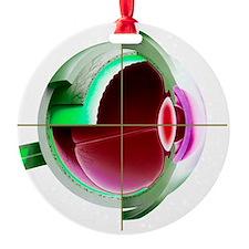 Human eye - Ornament (Aluminum)