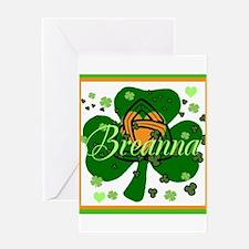 Breanna Greeting Card