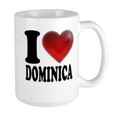 I Heart Dominica Mug
