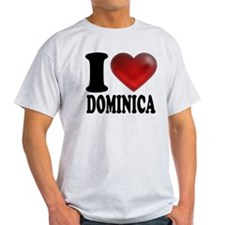 I Heart Dominica T-Shirt