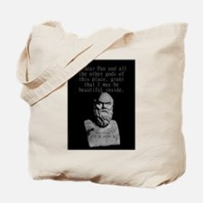 Oh Dear Pan And All The Other Gods - Socrates Tote