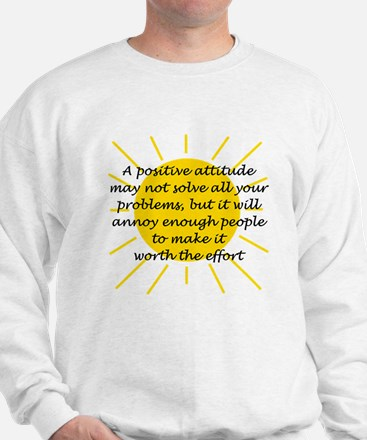 Positive Attitude Sweater