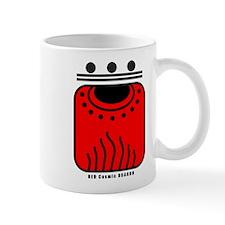 RED Cosmic DRAGON Mug