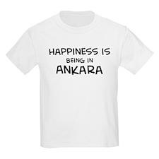 Happiness is Ankara Kids T-Shirt