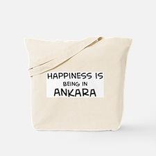 Happiness is Ankara Tote Bag