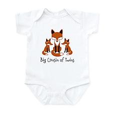 Big Cousin of Twins - Mod Fox Infant Bodysuit