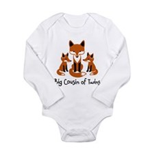 Big Cousin of Twins - Mod Fox Long Sleeve Infant B