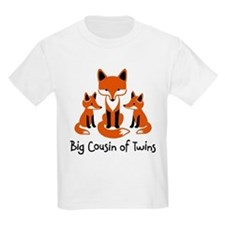 Big Cousin of Twins - Mod Fox T-Shirt