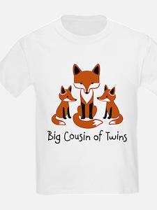 Big Cousin of Twins - Mod Fox T-Shirt
