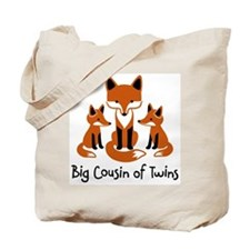 Big Cousin of Twins - Mod Fox Tote Bag