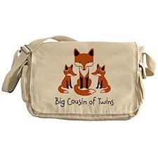 Big Cousin of Twins - Mod Fox Messenger Bag