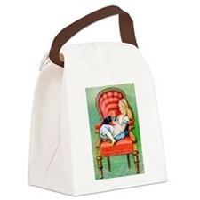 Alice in Wonderland DINAH 10X14.png Canvas Lunch B