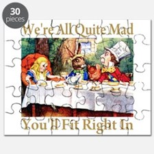WE'RE ALL QUITE MAD Puzzle