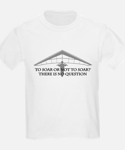 To Soar or Not To Soar-hang gliding T-Shirt