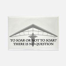 To Soar or Not To Soar-hang gliding Rectangle Magn