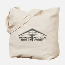 To Soar or Not To Soar-hang gliding Tote Bag