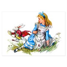 ALICE_RED RABBIT copy.png 3.5 x 5 Flat Cards