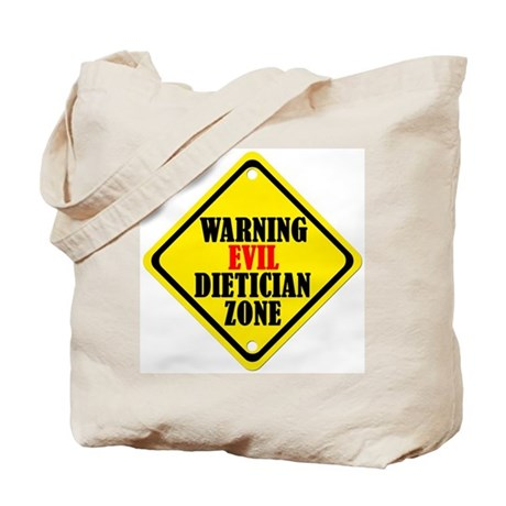 Evil Dietician Tote Bag