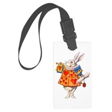 ALICE - THE WHITE RABBIT Luggage Tag