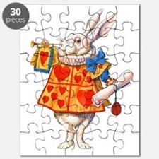 ALICE - THE WHITE RABBIT Puzzle