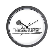 To Soar or Not To Soar-(parasailing) Wall Clock
