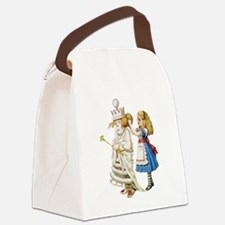 Alice WHITE QUEEN SOLO_RD.png Canvas Lunch Bag