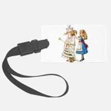 Alice WHITE QUEEN SOLO_RD.png Luggage Tag