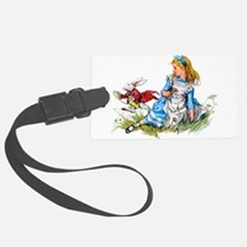 ALICE_RED RABBIT copy.png Luggage Tag