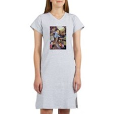 ALICE DOWN THE RABBIT HOLE Women's Nightshirt