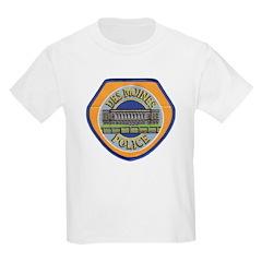 Des Moines Police Kids T-Shirt