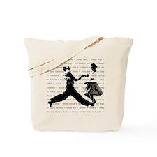 Jazz Steps Tote Bag