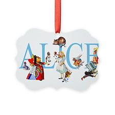 ALICE IN WONDERLAND & FRIENDS Ornament