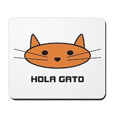 hola gato mousepad