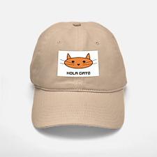 hola gato Baseball Baseball Cap