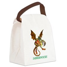 2-ALICE_jabberwocky.png Canvas Lunch Bag