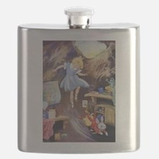 ALICE DOWN THE RABBIT HOLE Flask