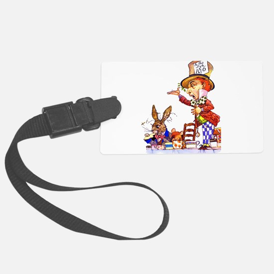Alice _mad hatter COPY.png Luggage Tag
