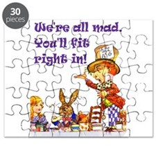 Alice Were all mad_16x20_Ravie Purpr.png Puzzle