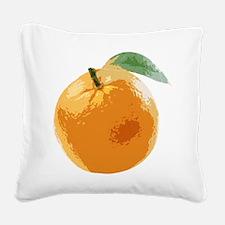 Orange Fruit Navel Valencia Naranja Square Canvas