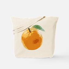 Orange Fruit Navel Valencia Naranja Tote Bag